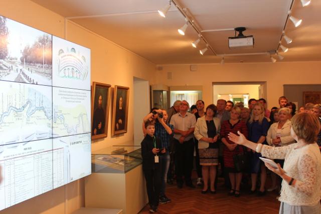 Открытие музейной экспозиции в музее истории города Боровичи и Боровичского края