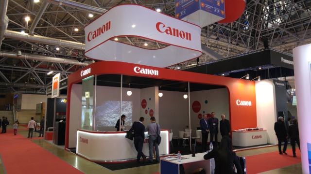 Canon на выставке Integrated Systems Russia